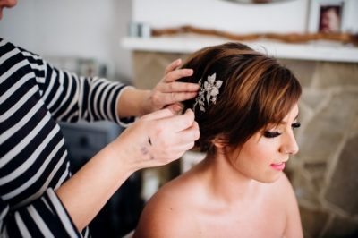 Shoshanna wedding hair