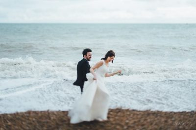 sally beach wedding