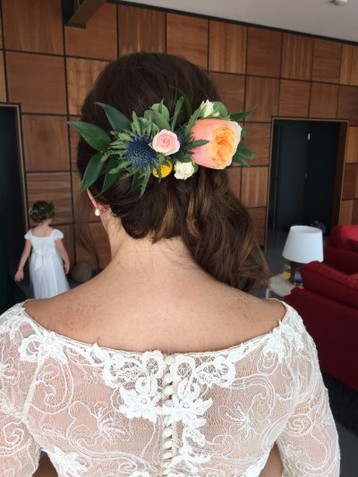 wes anderson wedding hair